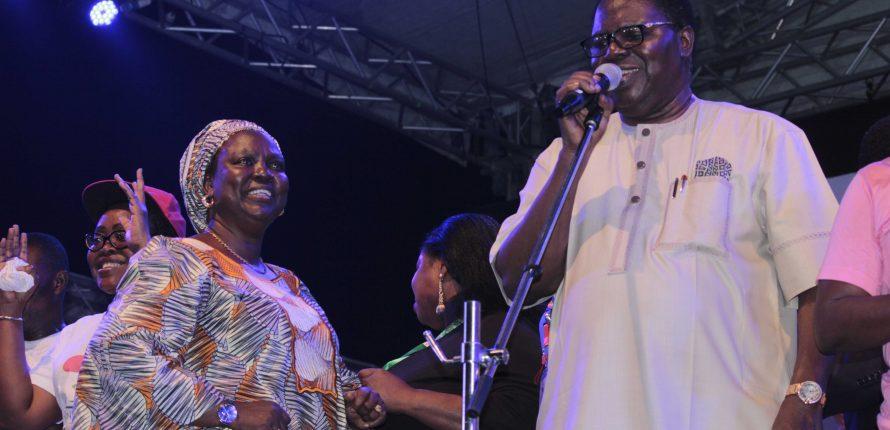 Watch Juju Legend, Ebenezer Obey's Performance at One Lagos Fiesta 2016