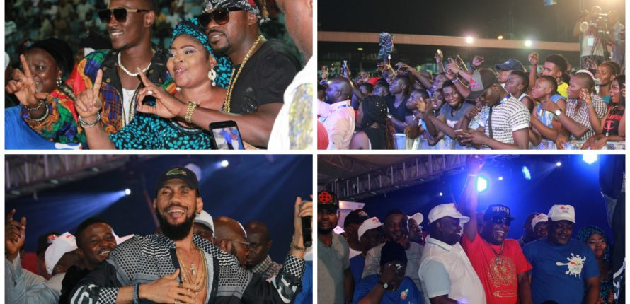 Adewale Ayuba, Salawa Abeni, Aramide, Sugarboy, Shina Peters, Others Kick off One Lagos Fiesta