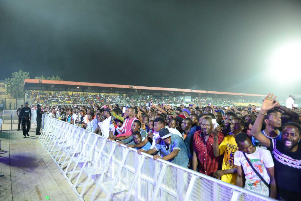 One Lagos Fiesta Audience