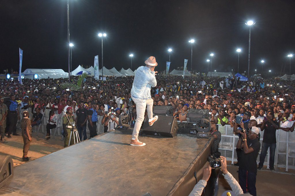 One Lagos Fiesta Day 6: See Electrifying Performance By Mr P